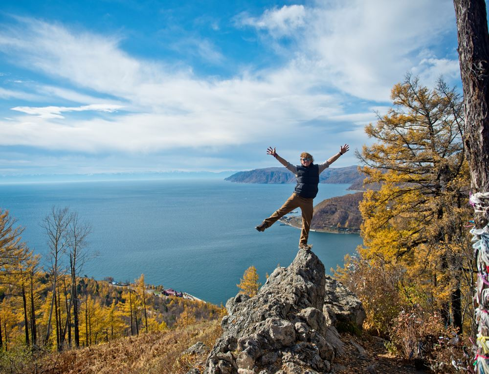 Autumnal Lake Baikal