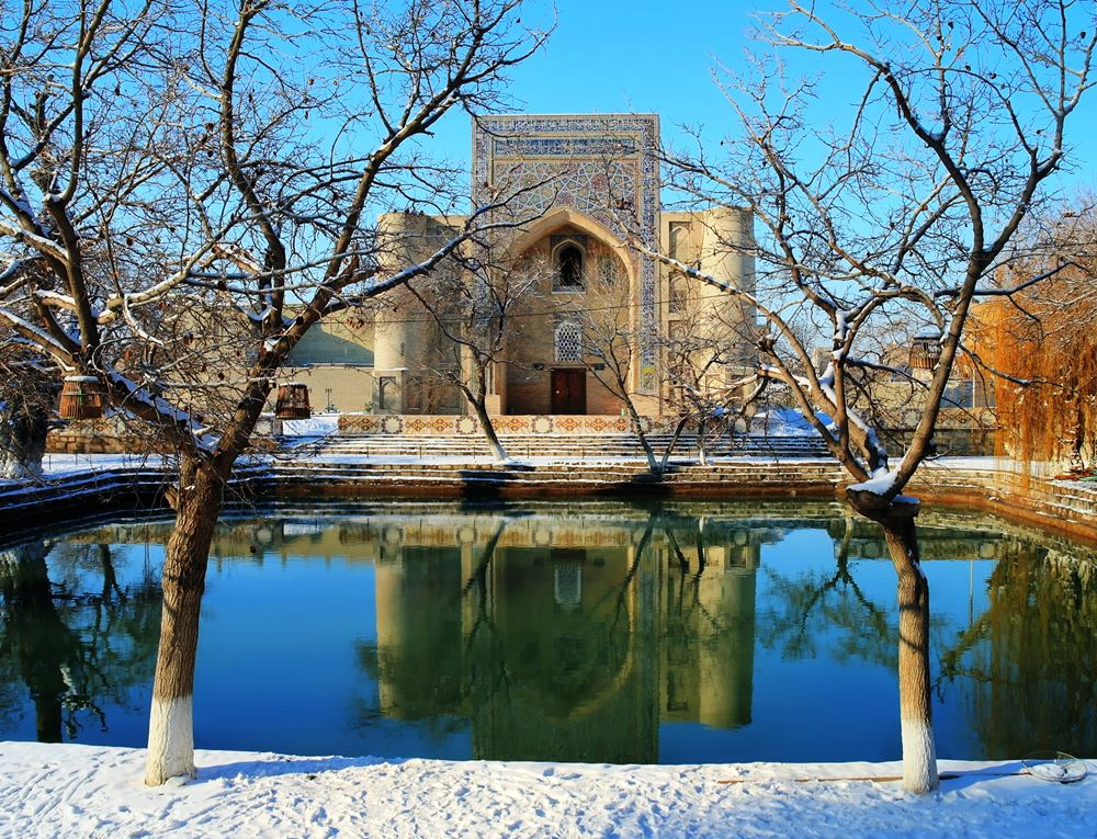 Bukhara in winter